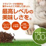 カリカリを食べない猫にカナガン